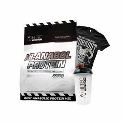 Hi Tec Hi Anabol Protein 2250 g Najlepsze Białko WPI WPC Soja Koszulka Shaker Gratisy