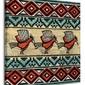 Tribal Birds - obraz na płótnie