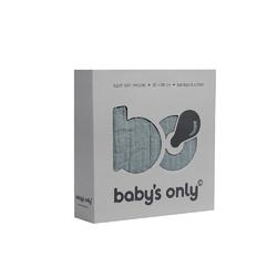 Babys Only, Otulacz bambusowy, kamienna zieleń, 120x120cm