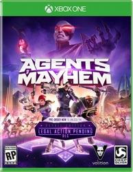 Gra Techland Agents of Mayhem Xbox ONE