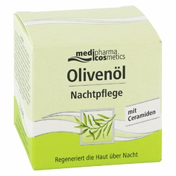 OLIVENOEL Krem oliwkowy do pielęgnacji na noc