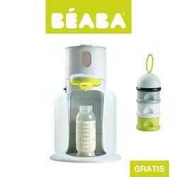 Zestaw Bibexpresso® Ekspres do mleka 3w1 neon z pojemnikiem na mleko w proszku neon