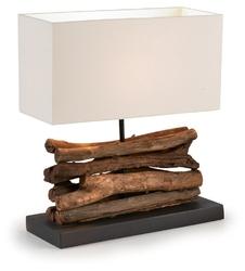 Lampa stołowa JUSTO biała