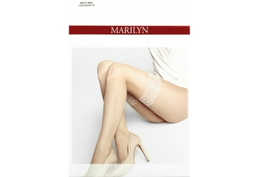 Natti M07 MARILYN rajstopy imitujące koronkę od pończoch