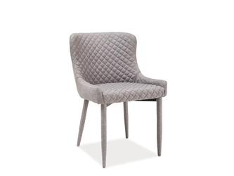 Krzesło tapicerowane Azure Grey szare