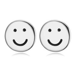 EXCLUSIVE Kolczyki uśmiechy srebrne - SREBRNE