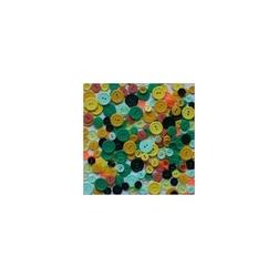 Kolorowe guziki 3 wielkości200szt. - mix IV - MIXIV