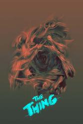 The Thing Coś - plakat premium Wymiar do wyboru: 21x29,7 cm