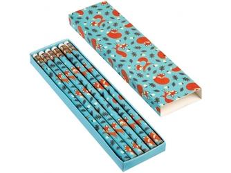 LISEK zestaw ołówków HB w pudełeczku 6 szt.