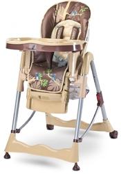 Caretero Magnus Fun Beżowe Krzesełko do karmienia + PUZZLE