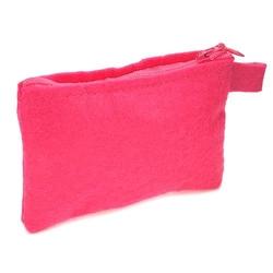 Filcowy portfel dekoracyjny - różowy - RÓŻ