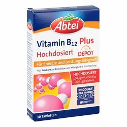 Abtei Vitamin B12+folsäure Tabletten