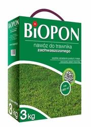 Biopon, nawóz granulowany do trawnika zachwaszczonego, 3kg