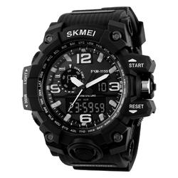 ZEGAREK MĘSKI sportowy SKMEI 1155 S-SHOCK black - BLACK