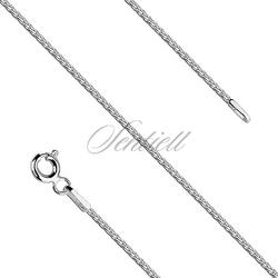 Łańcuszek srebrny 925. wzór Spiga o średnicy 1,5 mm