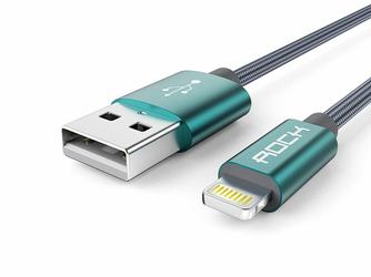 Rock kabel Lightning usb iPhone 180cm Tarnish
