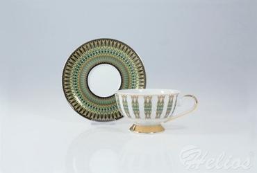 Filiżanka do herbaty 0,22 l ze spodkiem - G413 ASTRA India