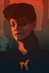 Łowca Androidów Rachael Blade Runner - plakat premium Wymiar do wyboru: 60x80 cm