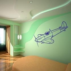 szablon malarski samolot 9