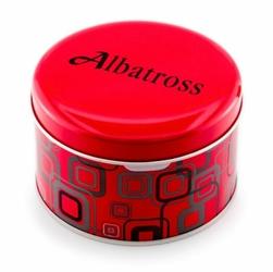 Prezentowe pudełko na zegarek - PUSZKA ALBATROSS OKRĄGŁA