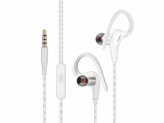 Słuchawki sportowe Fonge S760 Białe - Biały
