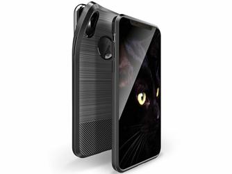 Etui Dux Ducis Mojo magnes Apple iPhone X Xs czarne + Szkło 9h