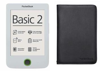 Czytnik Pocketbook 614 Basic 2 Biały + Etui