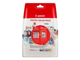 CANON Oryginalny tusz CLI-581XL BKCMY + papier fotograficzny