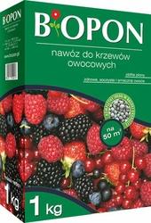 Biopon, nawóz granulowany do krzewów owocowych, 1kg