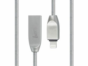 Kabel Beeyo Zinc przejściówka Ligtning 8-pin 2A 100 cm