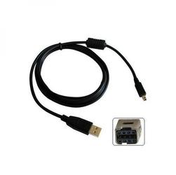 Kabel USB 2.0, USB A  M- 8 pin M, 1.8m, czarny, Logo, blistr, MINOLTA