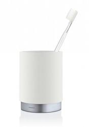 Kubek łazienkowy biały Ara Blomus