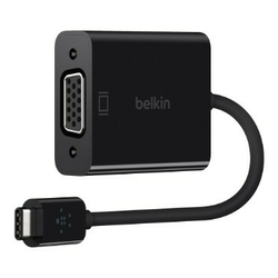 Belkin Adapter USB-C do VGA czarny