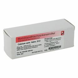 Calcium Carbonicum Hahnemanni D 12 Globuli