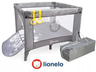 Lionelo Stella GreyScandi Kojec dla dziecka