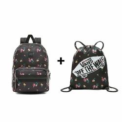 Plecak Vans Distinction II + Worek Torba Vans Benched Bag Satin Floral