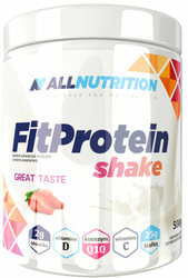 ALLNUTRITION FitProtein Shake strawberry 500g