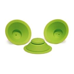 Zapasowe silikonowe uszczelki do kubeczka WOW Cup Kids, kolor zielony