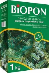 Biopon, nawóz granulowany do iglaków przeciw brązowieniu, 1kg
