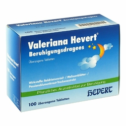 Valeriana Hevert Beruhigungsdrag.