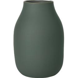 Wazon porcelanowy Colora Agave Green Blomus ciemnozielony B65704