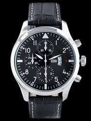 Czarny zegarek meski na pasku PACIFIC A260B - DATA zy035b