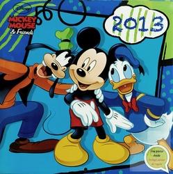 Mickey Mouse amp; Friends - kalendarz 2013