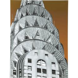 KARE Design :: Obraz szklany Empire Roof 80x60cm