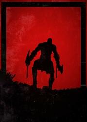 Dawn of Heroes - Kratos, God of War - plakat Wymiar do wyboru: 70x100 cm