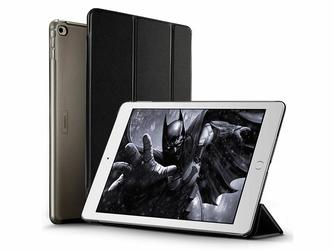 Etui ESR Smart Case iPad Air 2 Yippee Series Czarne + Szkło - Czarny