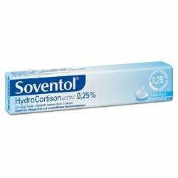 Soventol Hydrocortisonacetat 0,25 Creme