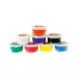 Masa plastyczna CIASTO-PLASTO 30 g - pomarańczowy - POM