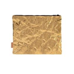 Etui, kosmetyczka M złota PAPEDA
