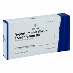Argentum Metallicum Praep. D 6 Amp.
